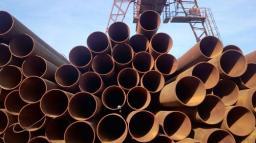 Труба стальная лежалая 630х10 ст.3 ГОСТ 10704