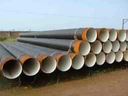 Труба стальная э/с в изоляции ГОСТ 10704/10705 530х8 в 2-х слойной УС/ВУС изоляции 17Г1С