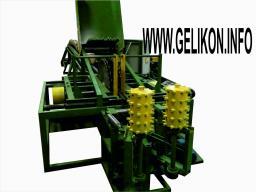 Станок брусующий двухвальный(четырёхпильный) дисковый СЛД-4п-1000 м с вытяжным мех бревна из пильного узла пилы сдвигаются и раздвигаются за 5 сек(61.1 кВт)