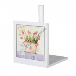 Держатель для бумажных полотенец Тюльпаны