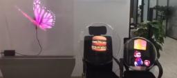 3D голографический экран или голографический вентилятор Dsse-50