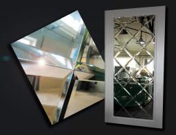 Продажа и Резка стекла, зеркала и зеркальной плитки с фацетом