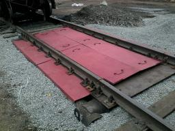 Вагонные Весы (С) 80/160 тонн, 5,0 м х 1 шт.