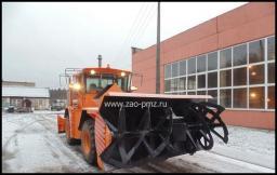 Фрезерно-роторный снегоочиститель