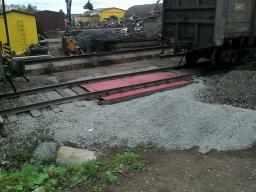Вагонные Весы (Сд) 80/160 тонн, 5,0 м х 1 шт. с