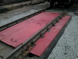 Вагонные Весы (С) 100/150 тонн, 5,0 м х 2 шт. с