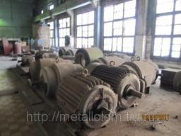Электромоторы б\у закупаем, прием электродвигателей, электрогенераторов бу на лом.