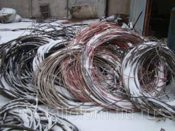 Долгопрудный. Сдать металлолом, лом аккумуляторов, электропроводку. Москва, МО. интернет кабель