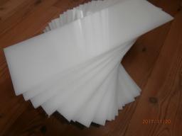 Листы полипропиленовые, толщина 4 и 8 мм. под емкости для рыб