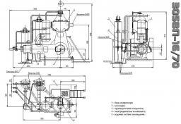 Компрессор 305 ВП-16/70 и запчасти к компрессору 305 ВП-16/70