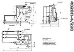 Компрессор 402ВП-4/220, запчасти к компрессору 402ВП-4/220