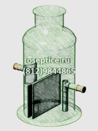 Жироуловитель вертикальный JT-7 (7 л/с)