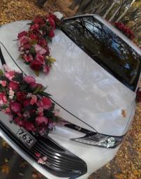 Новая Тойота Камри на свадьбу.