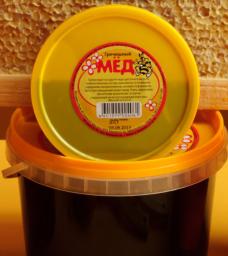 мед натуральный фасованный Гречишный 1,0 кг в пласт. таре