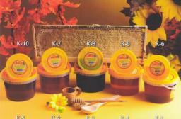 мед натуральный фасованный Цветочный 250 гр. в пласт. таре