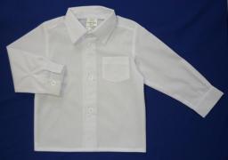 Сорочка белая длинный рукав