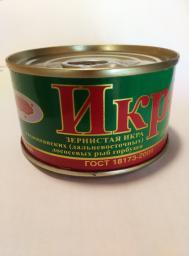 Икра горбуши, 140 гр, ГОСТ