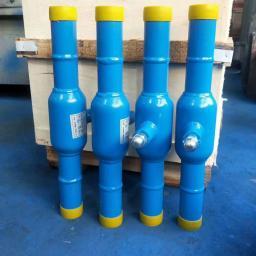 Производим краны шаровые цельносварные стандартнопроходные для воды 11с31п Ду65 Ру25