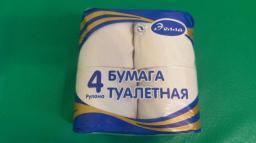 Туалетная бумага белая