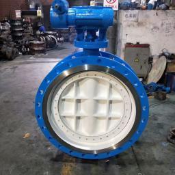 Продаем затворы дисковые поворотные трехэксцентриковые фланцевые стальные Ру16 Ду500 из Китая