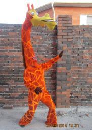 Прокат ростовой куклы Жираф