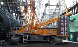 Аренда гусеничного крана LIEBHERR LR 1350 г/п 350 тонн