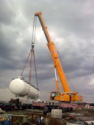 Аренда автокрана 200 тонн