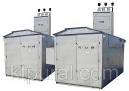 Подстанция двухтрансформаторная 2КТП 100