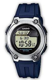 Японские наручные  мужские часы Casio W-211-2A. Коллекция Digital