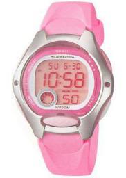 Японские наручные  женские часы Casio LW-200-4B. Коллекция Digital