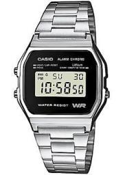 Японские наручные  мужские часы Casio A-158WEA-1E. Коллекция Digital