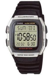 Японские наручные  мужские часы Casio W-96H-1A. Коллекция Digital