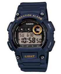 Японские наручные  мужские часы Casio W-735H-2A. Коллекция Digital