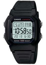 Японские наручные  мужские часы Casio W-800H-1A. Коллекция Digital