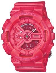 Японские наручные  мужские часы Casio GMA-S110CC-4A. Коллекция G-Shock