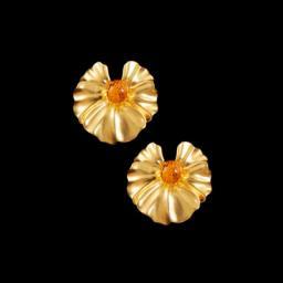 Золотые серьги  22060