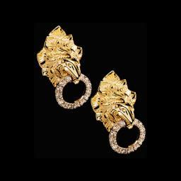 Золотые серьги  22190