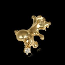 Золотая брошь  60320