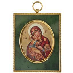 Серебрянная икона  34891RS