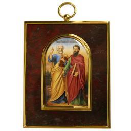 Серебрянная икона  34803RS