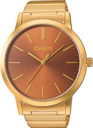 Японские наручные  женские часы Casio LTP-E118G-5A. Коллекция Analog