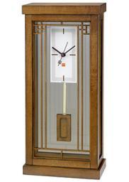 Настольные часы Bulova B1852. Коллекция Frank Lloyd Wright
