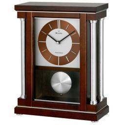 Настольные часы Bulova B7655. Коллекция Каминная коллекция
