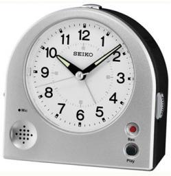 Настольные часы Seiko Clock QHE081SN. Коллекция Интерьерные часы
