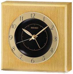 Настольные часы Seiko Clock QHE053GN. Коллекция Интерьерные часы