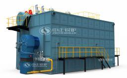 Газовый/жидкотопливный водогрейный котел серии SZS