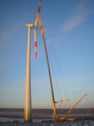 Мобильный кран LIEBHERR LTM 11200 грузоподъёмностью 1200 тонн