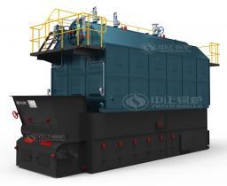 Промышленный биомассовый водогрейный котел серии SZL
