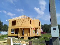 Строительство домов коттеджей из сип панелей под ключ