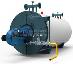 Газовый горизонтальный термомасляный котёл серии YQW